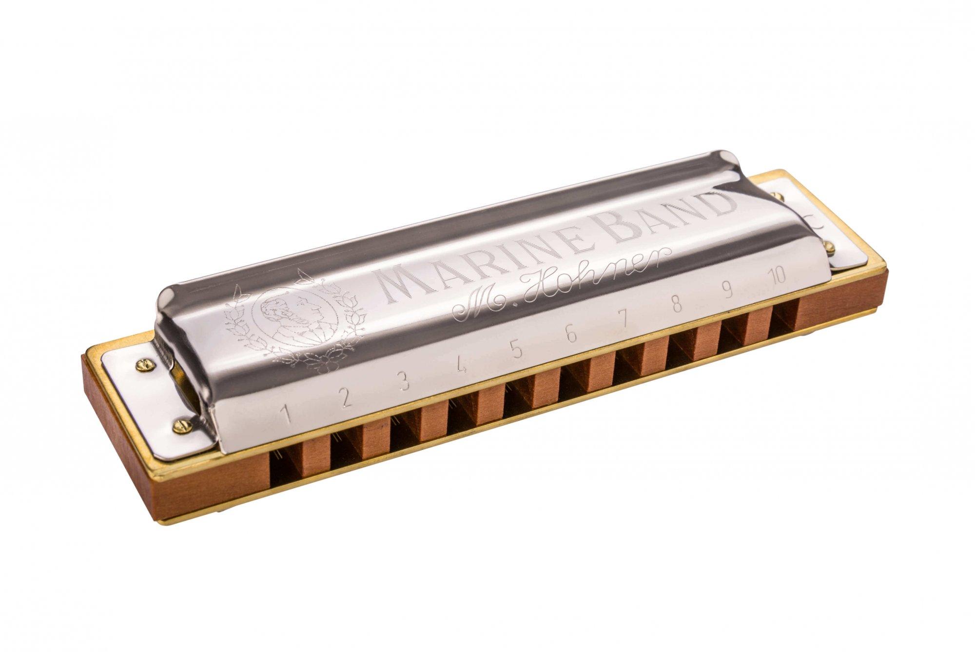 Hohner Marine Band Harmonica in B