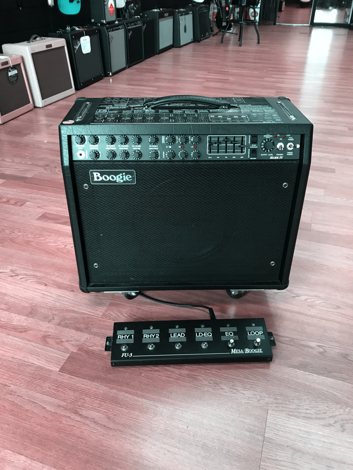 Used Mesa Boogie Mark IV Tube Combo Amplifier