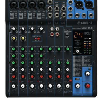 Yamaha MG10XU 10-Input Stereo Mixer with Effects and USB