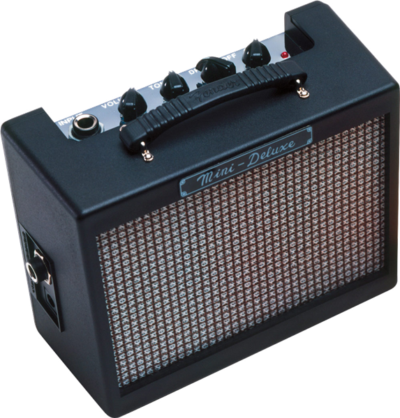 Fender Mini Deluxe Battery Operated Guitar Amp