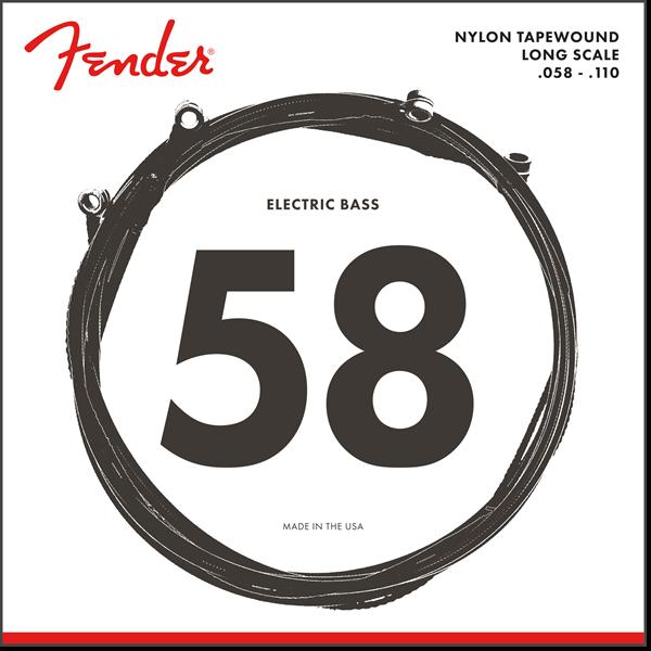 Fender 9120M Nylon Tapewound 58-110 SET