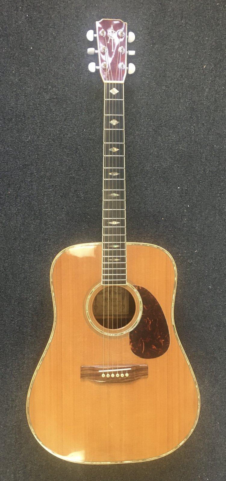 Used Alvarez Yairi DY85 1983 Dreadnought Acoustic Guitar w/case