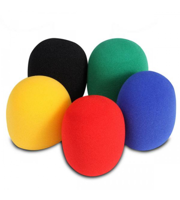 On-Stage ASWS58C5 5-Color Windscreen Pack