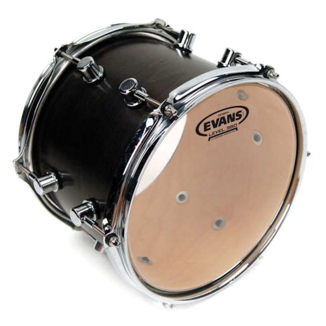 Evans TT12GR Genera Resonant Drum Head, 12