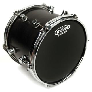 Evans TT14HBG Hydraulic Black Drum Head, 14 Inch
