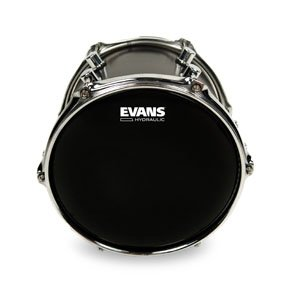 Evans 13 Hydraulic Black Drumhead