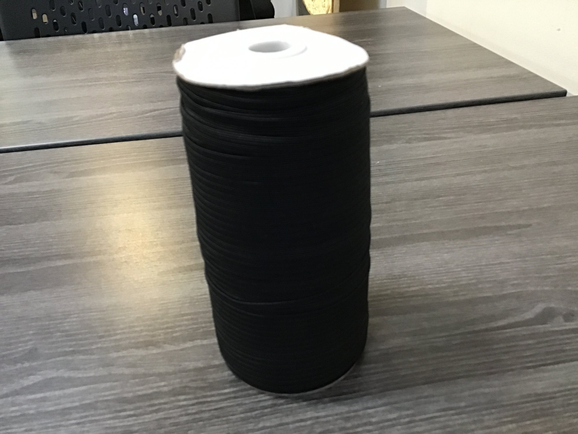 Braided Elastic - 3 mm - black