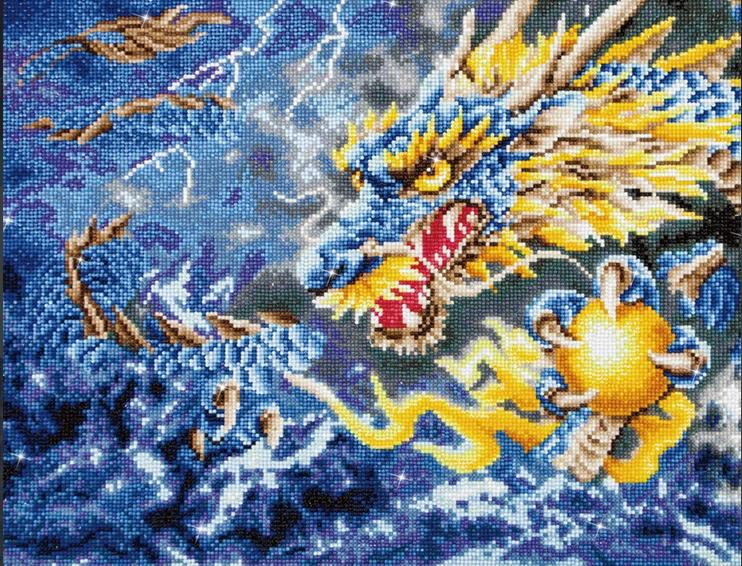 Diamond Dotz- Mythical Dragon (68 x 47 cm)