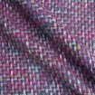 Haute couture Italian tweed boucle in pink/multi