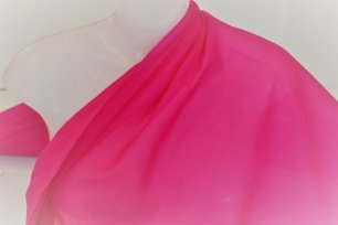 fuschia Swiss cotton voile fabric