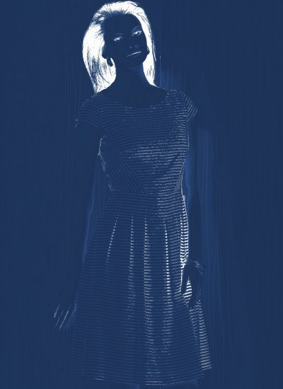 visualize in blue stripe