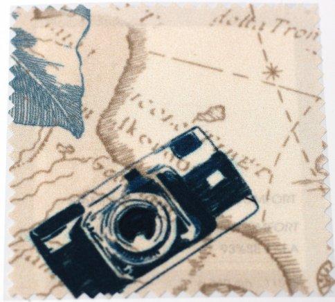 Camera print fabric