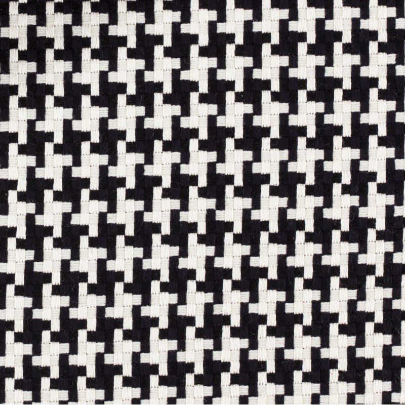 Haute couture wool/cotton chunky houndstooth, Italy