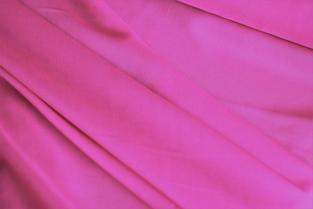 Swiss cotton voile, hot pink
