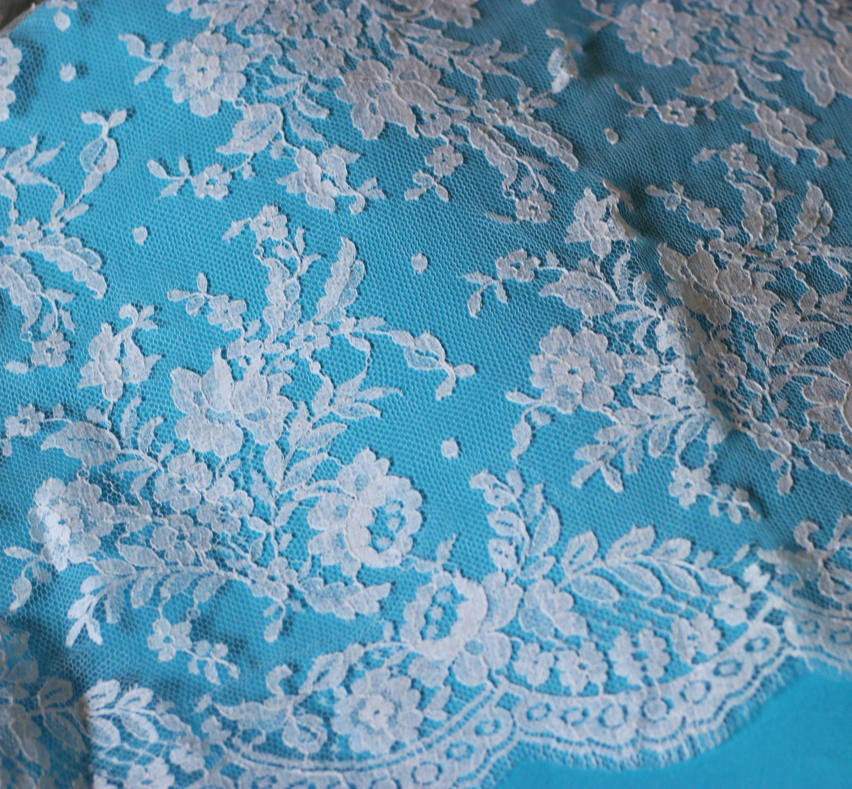 White bridal lace Elsie