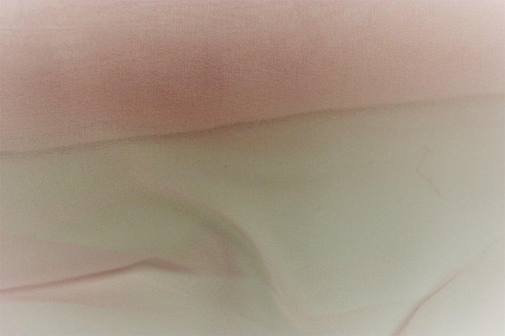 Pure silk chiffon, ballet pink
