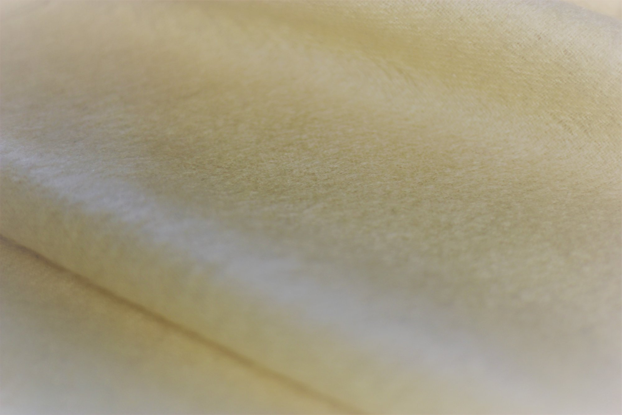 Agnona wool and cashmere lightweight coating, light yellow/gold