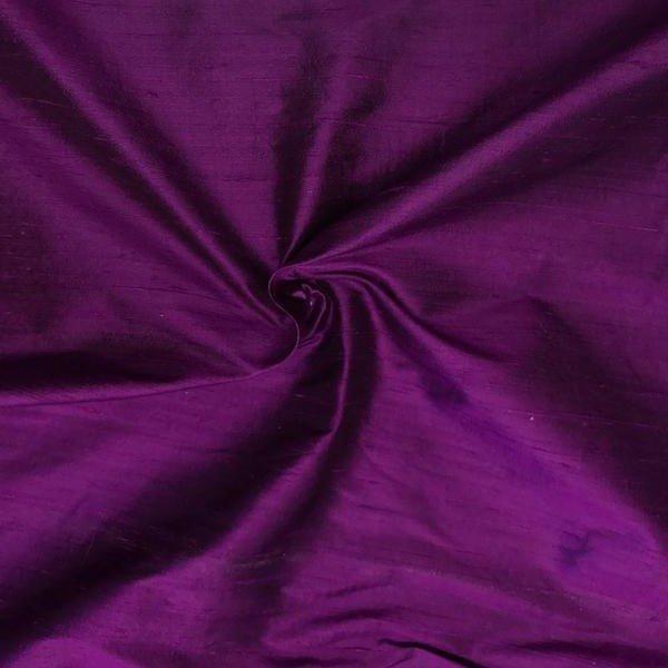 Magenta pure silk dupioni 54