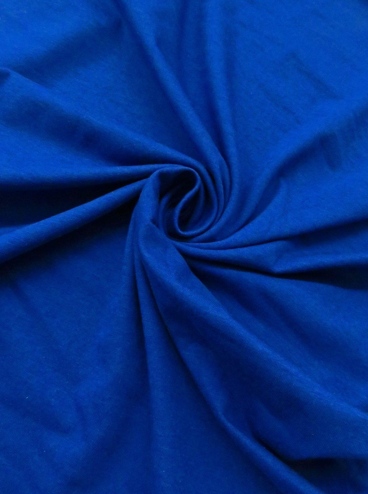 Modal/cotton jersey knit, royal blue