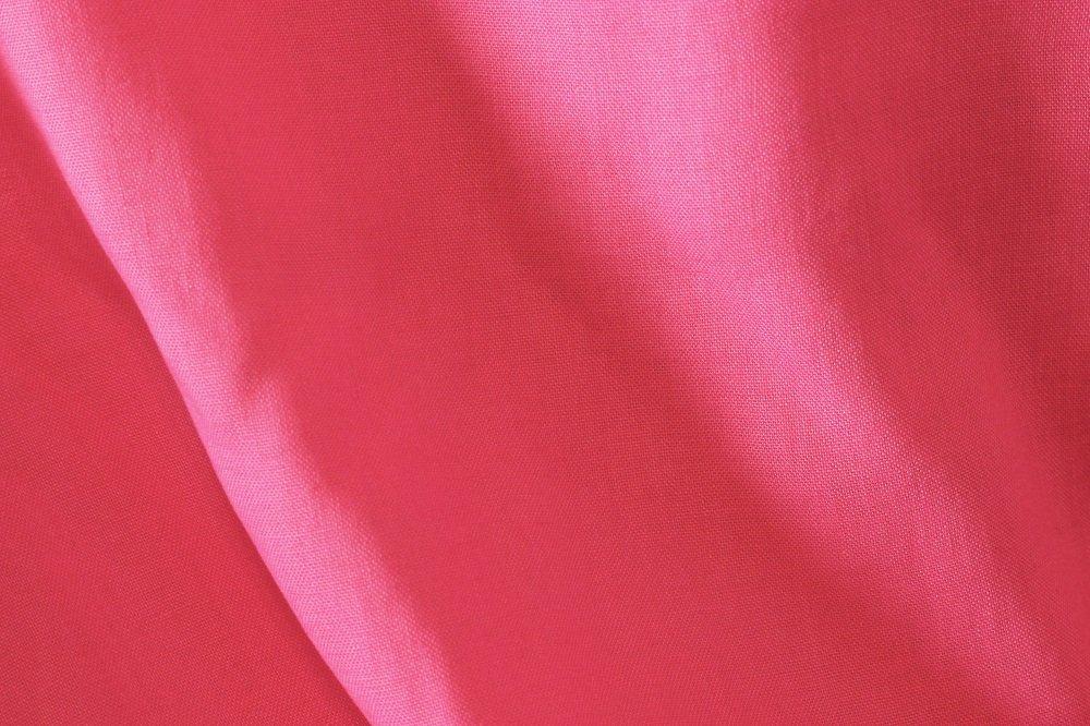 Wild rose color pure linen