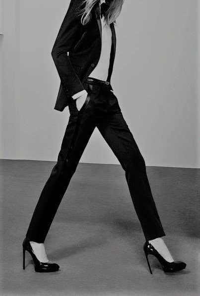 YSL smoking inspiration