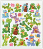 Stickers Frogs And Snails W Upright Bass And Ukulele Glitter