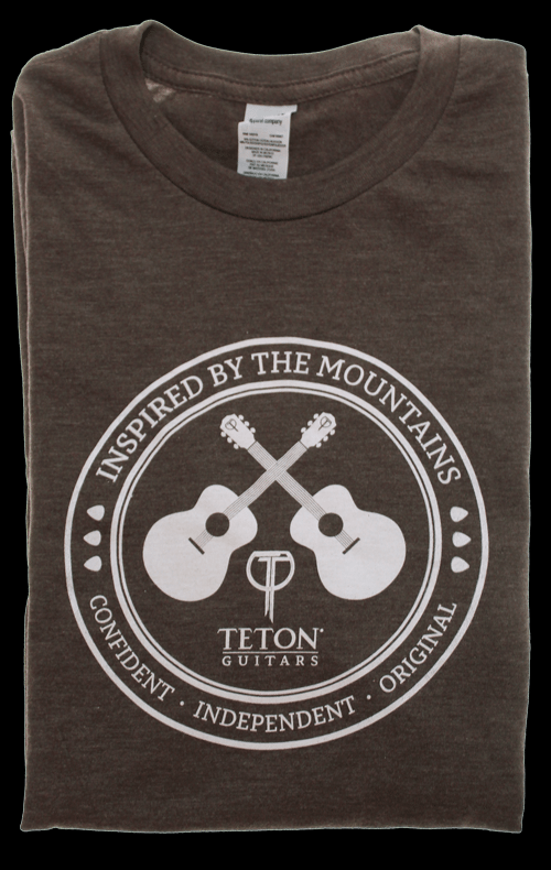 Teton Nut Brown T-Shirt (Large)