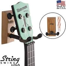 Stringswing Hardwood Home and Studio Ukulele Hanger