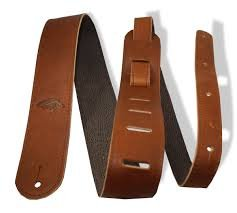 Guitar Strap Basic Leather Br
