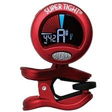 Snark All-Inst Clip-On Tuner Red
