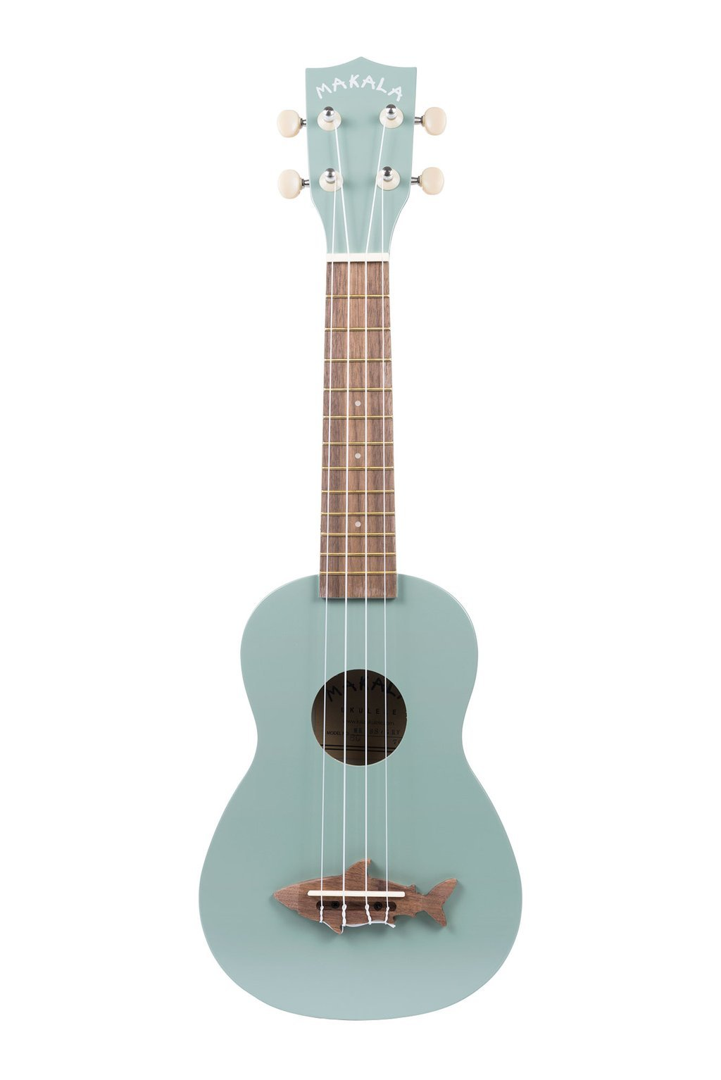 Makala Shark Ukulele Gray