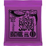 Ernie Ball 2620 Power Slinky 7-string Nickel Wound Electric Guitar Strings - .011-.058