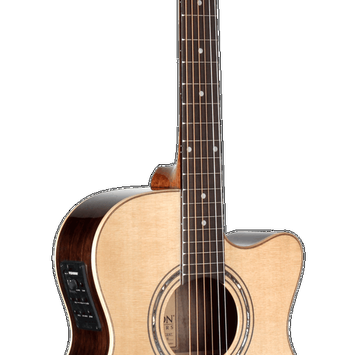Teton Acoustic/Electric Grand Concert Guitar with Natural Finish