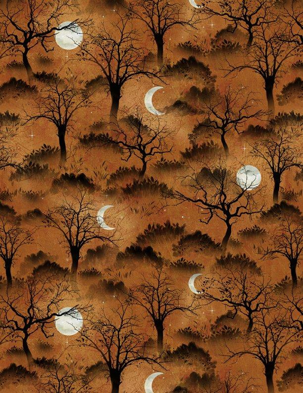 Frightful Nights  Trees & Moon