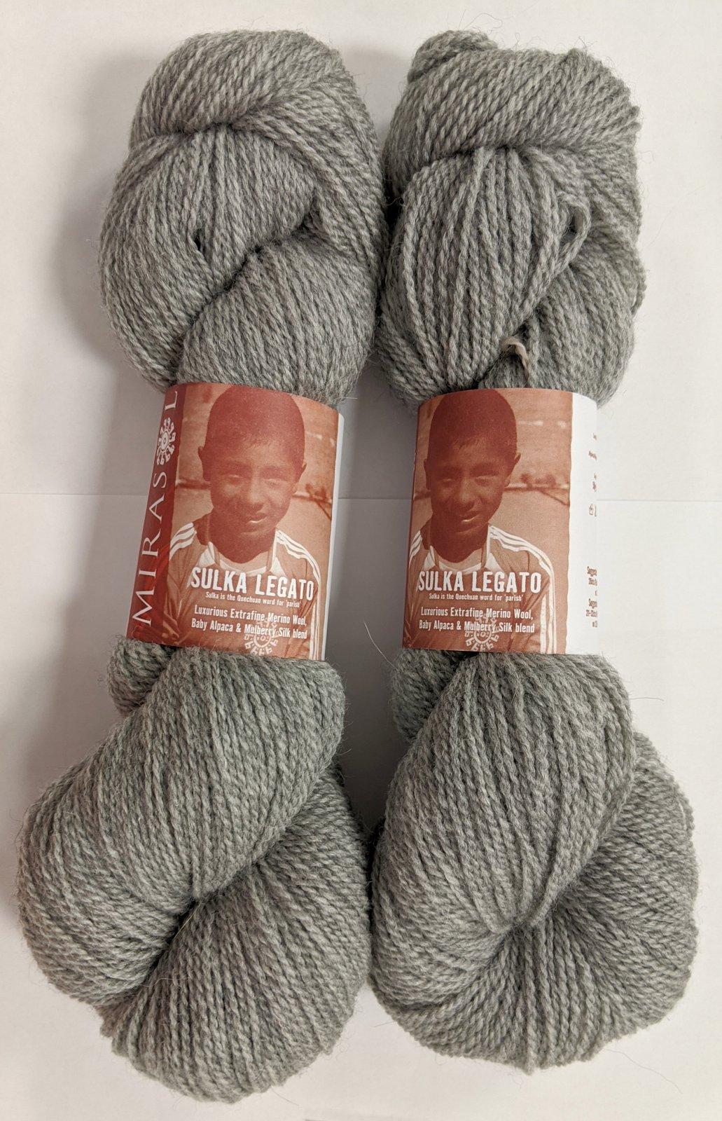 Mirasol Sulka Legato Yarn - #01 Pearl