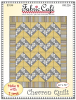 Fabric Cafe Chevron Quilt
