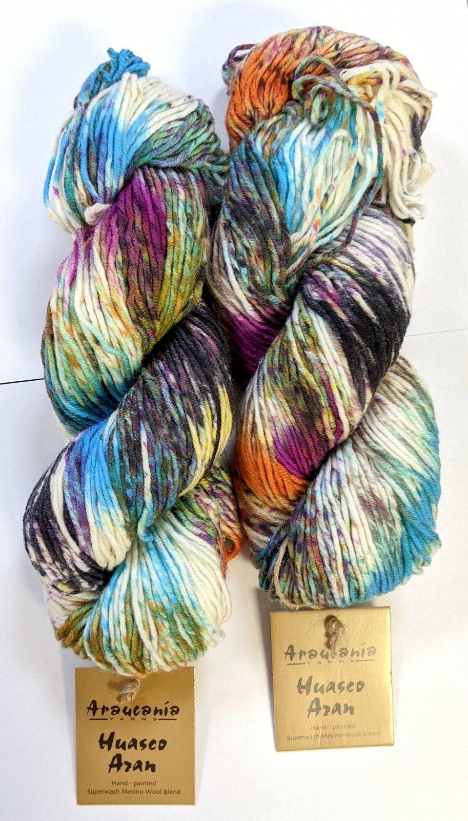 Araucania Huasco Aran Yarn - #11 Vinicunca