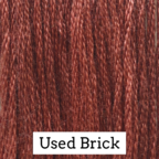 Classic Colorworks Cotton Floss Used Brick