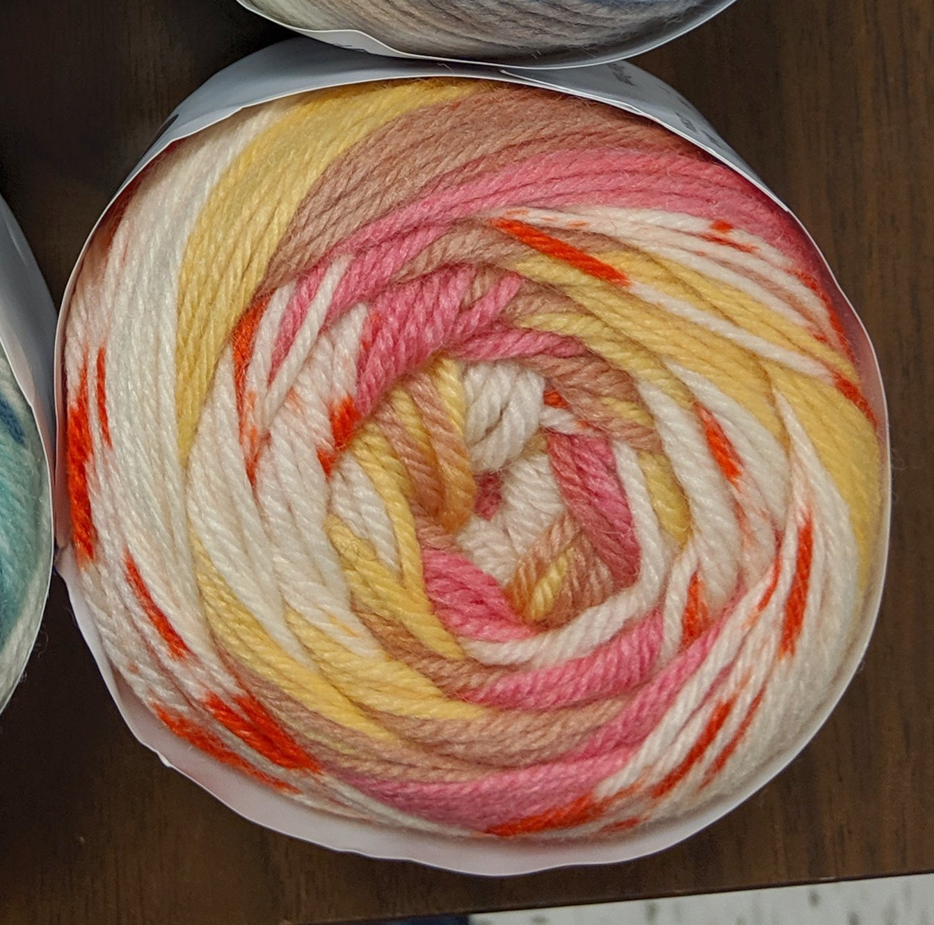 Euro Baby Fair Isle Yarn - Color #17 Rose Parade