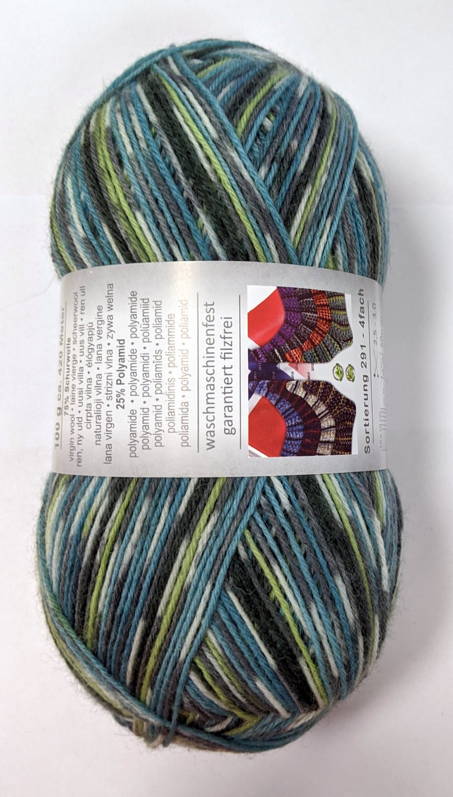 ON Line Supersocke Norweger Color II Yarn - #2512