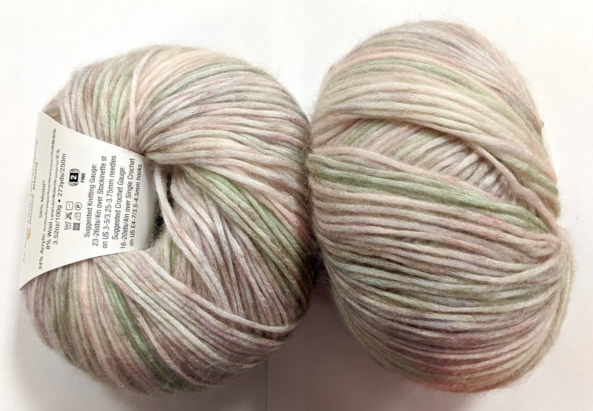 Knitting Fever Painted Mist Yarn - Prismatic Pearl #311 - disc