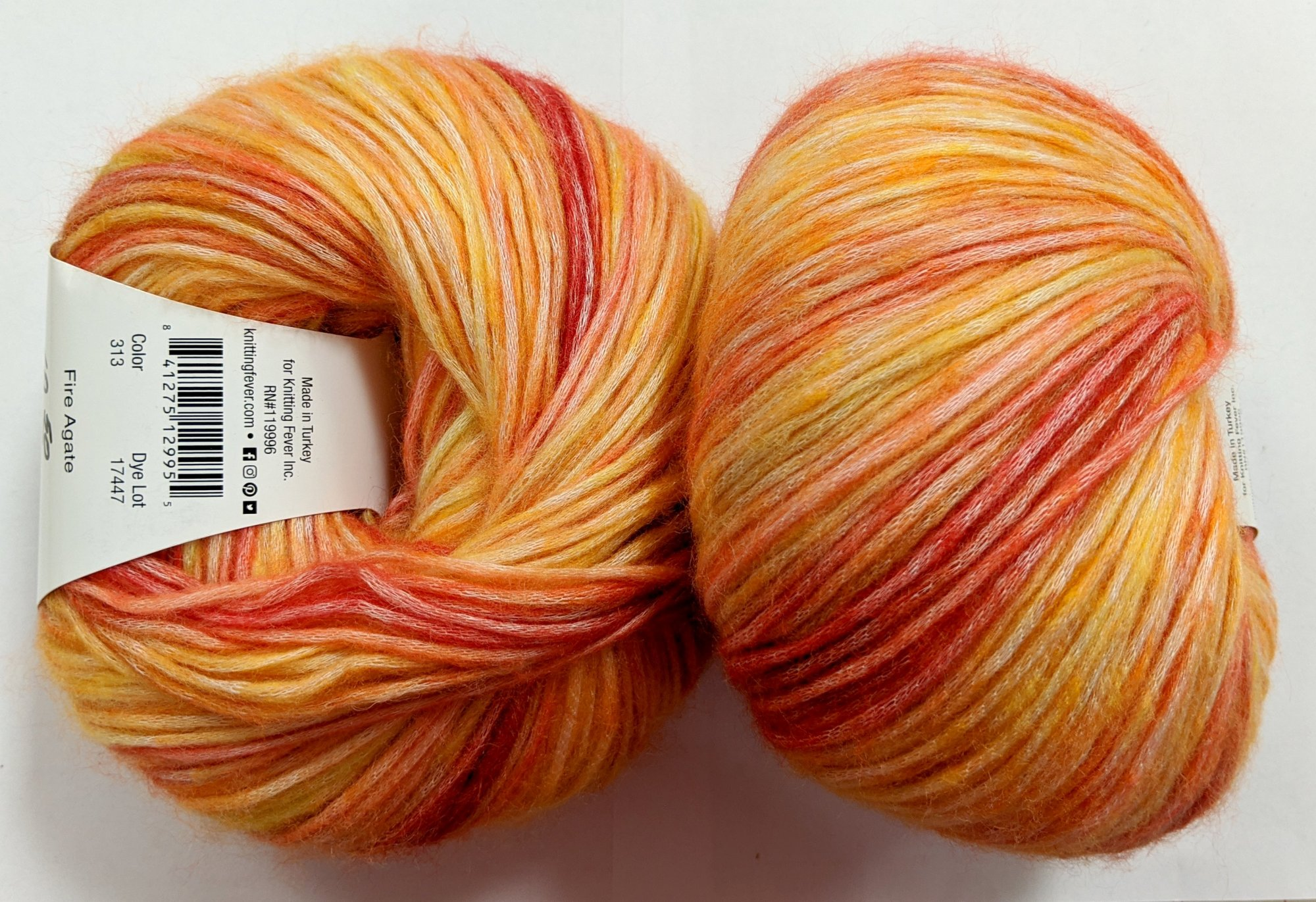 Knitting Fever Painted Mist Yarn - Fire Agate #313