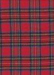 6954 Royal Stewart Red Plaid Flannel