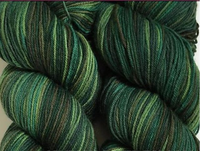 Cascade Heritage Paints Yarn - Color #9824 - discontinued