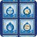 Winters Grandeur 8 19328-4 Blue Ornament Panel