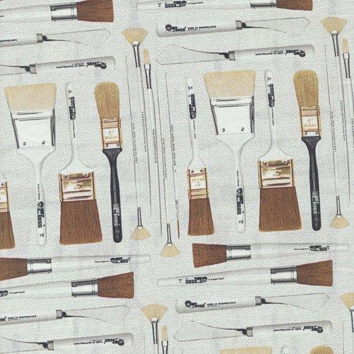 The Joy of Painting brushes