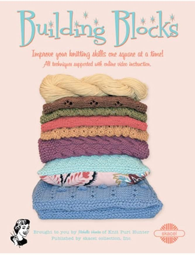 Building Blocks pattern book by Michelle Hunter