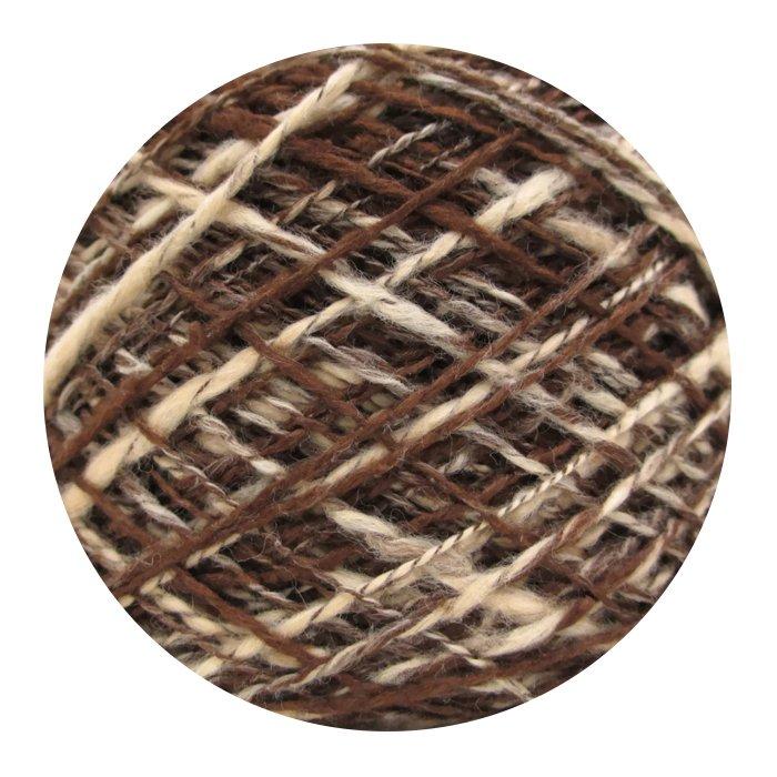 The Loom Fusilli-80 Yarn - Color #F-09 Chocolate