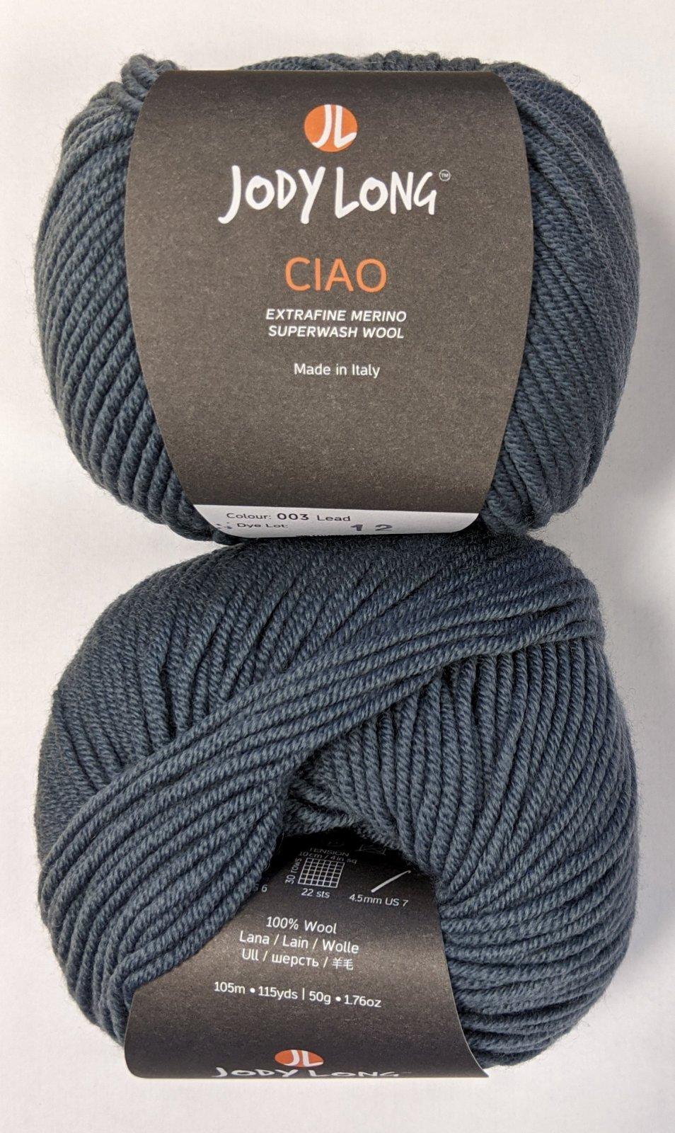 Jody Long Ciao Yarn - Lead #003