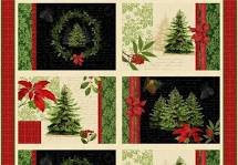 Festive Forest Placemat Panel